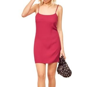 Reformation Rhubarb Lindsay Dress